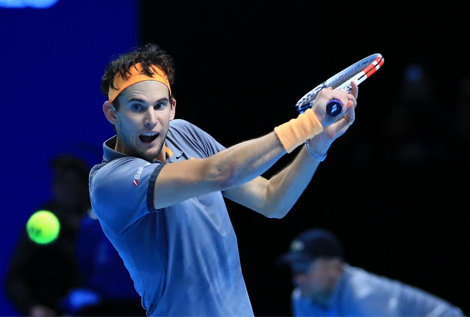 Dominic Thiem verpasste bei den ATP Finals seinen bisher größten Karriere-Titel.