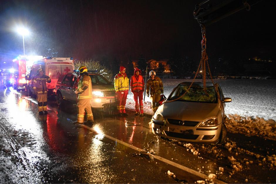 Der Lenker flüchtete nach dem Unfall von der Unfallstelle.