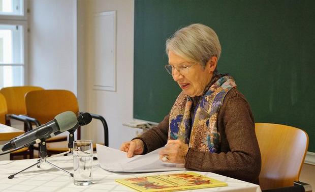 Autorin Barbara Frischmuth las an der KPH Stams.