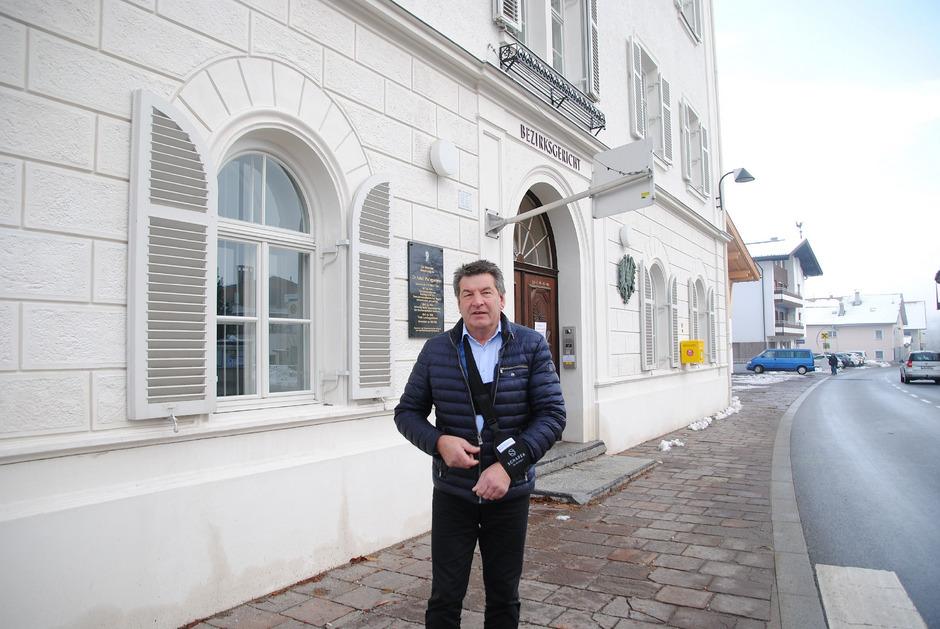 Die erneut im Raum stehende Schließung des Bezirksgerichts Silz will Bürgermeister Helmut Dablander verhindern.