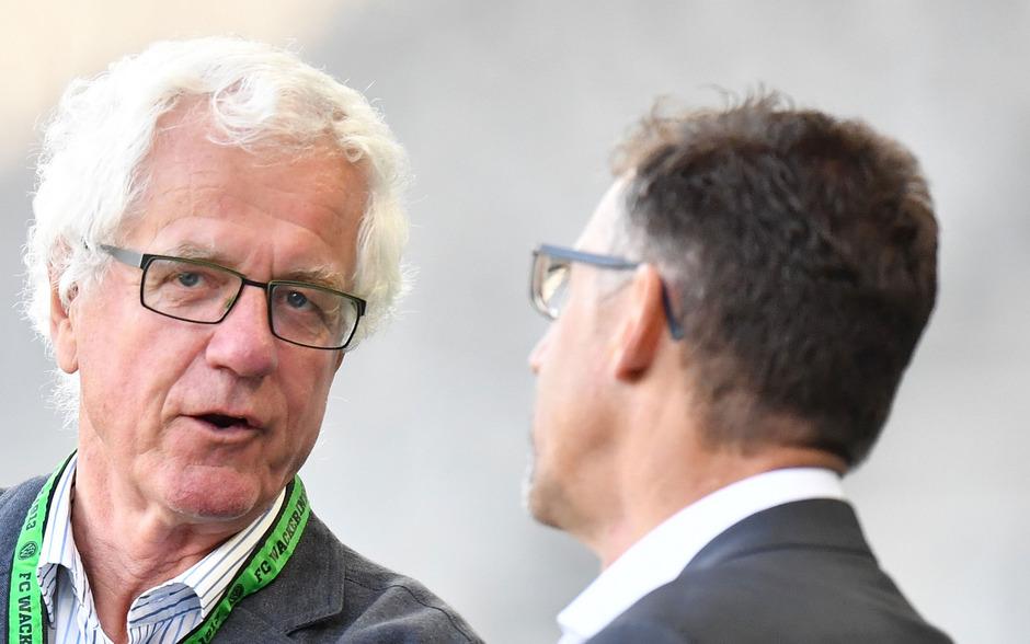 Wacker-Präsident Gerhard Stocker lässt seine Zukunft offen.