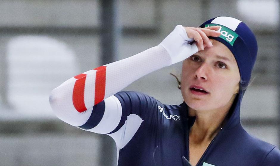 Eisschnellläuferin Vanessa Herzog ist momentan nicht vom Glück verfolgt.