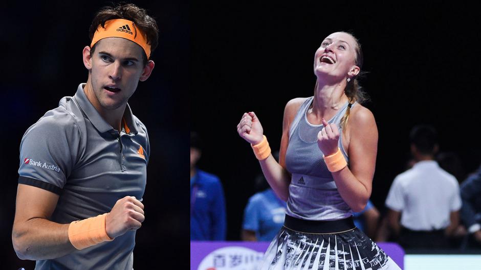 Glück im Spiel, Pech in der Liebe: Dominic Thiem und die Französin Kristina Mladenovic waren seit Anfang 2017 zusammen.
