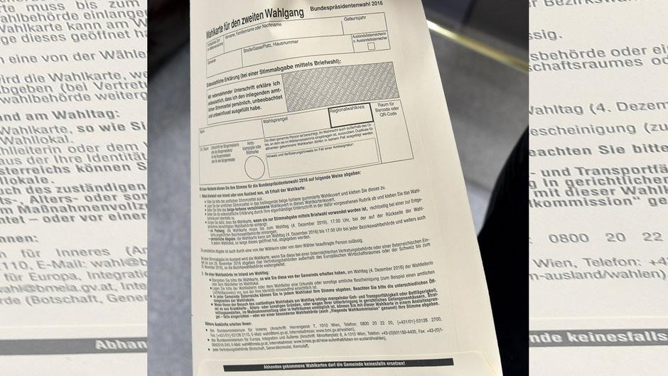 Die Auszählung der Wahlkarten beschäftigt die Behörden auch drei Jahre nach der Wahl.
