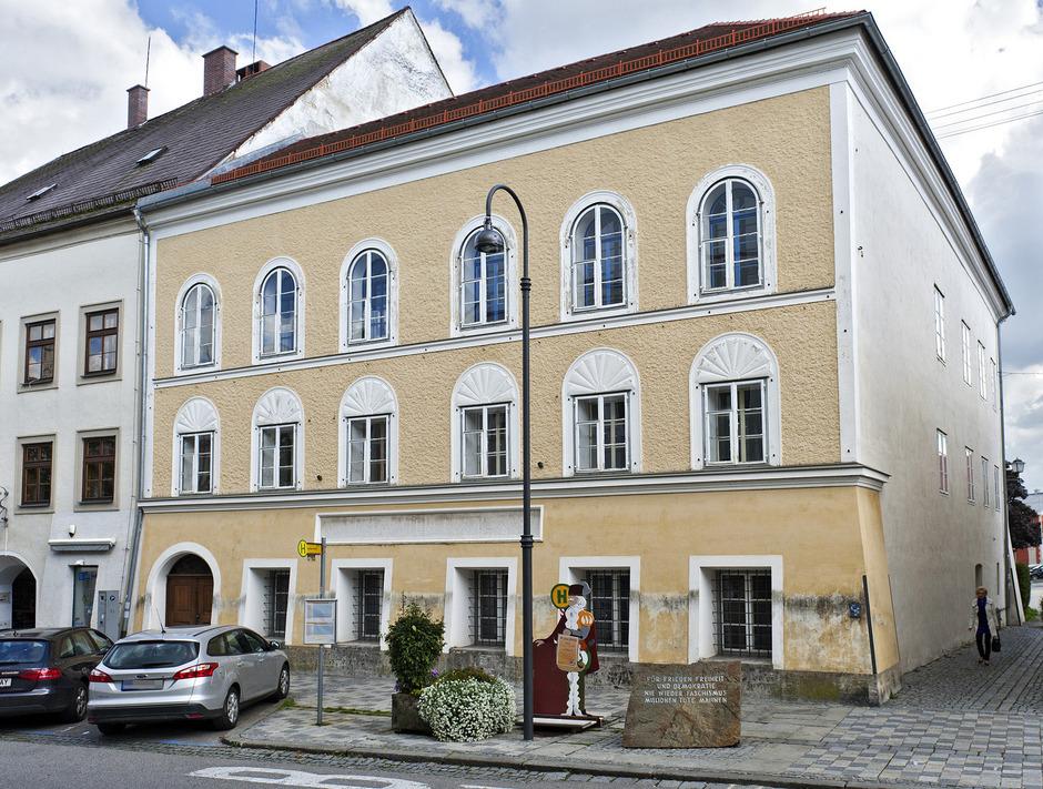Hitlers Geburtshaus in Braunau am Inn wird eine Polizeistation.