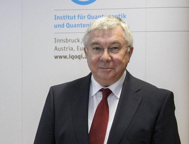 Der Quantenphysiker Rainer Blatt.