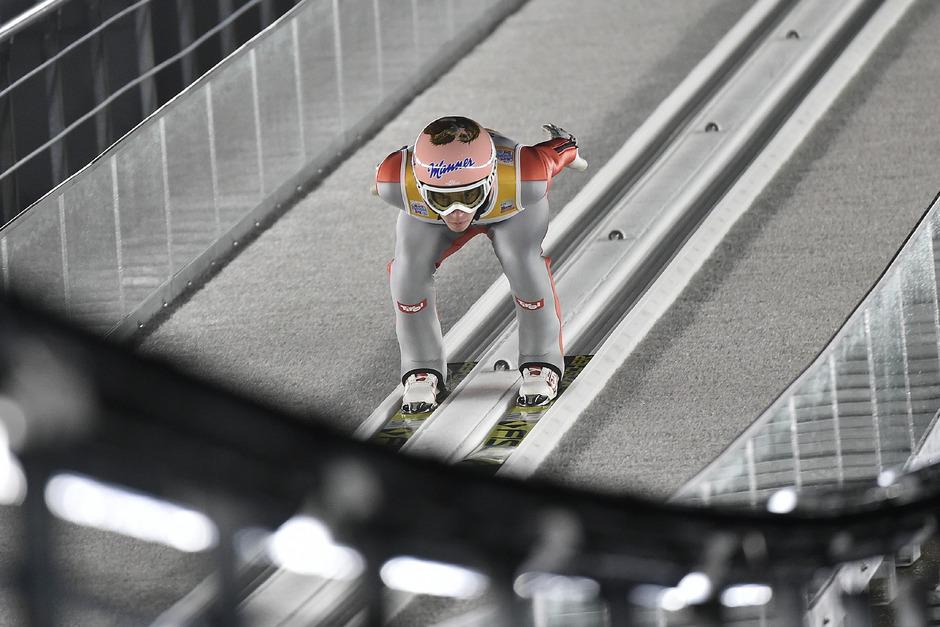 """Fokussiert blickt ÖSV-Skispringer Stefan Kraft auf die neue Saison mit 30 Einzel- und 6 Teambewerben: """"Es ist die coolste Zeit im Jahr."""""""