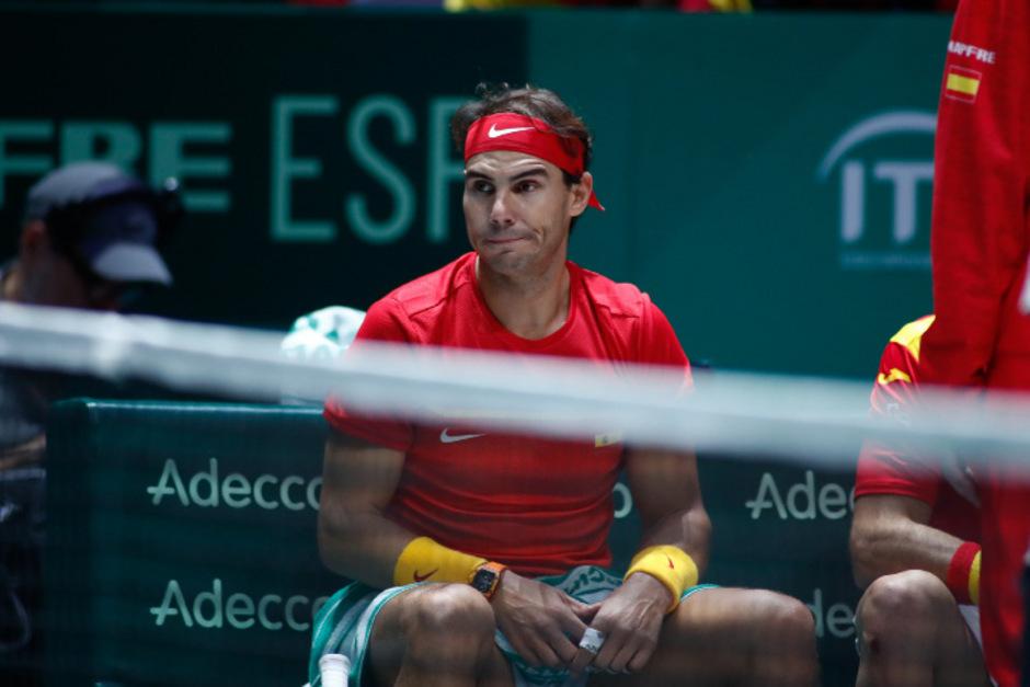 Nadal führte die Spanier ins Viertelfinale.