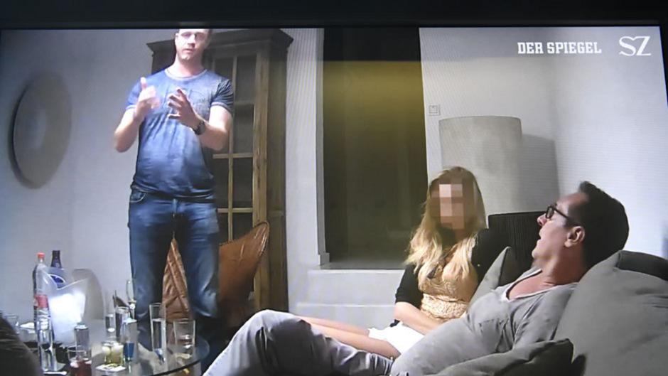 """Eine Szene aus dem """"Ibiza-Video"""", das dem """"Spiegel"""" und der """"Süddeutschen Zeitung"""" zugespielt wurde."""