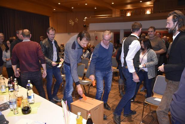 Die Jahreshauptversammlung samt Wahlen fand im Zugspitzsaal Ehrwald statt.