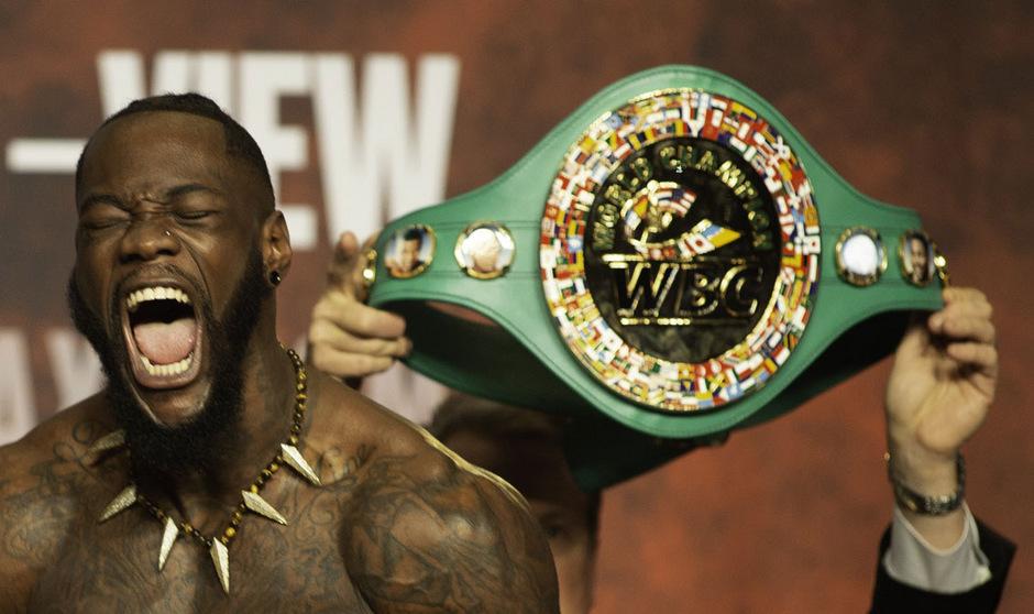 WBC-Schwergewichtsweltmeister Deontay Wilder.