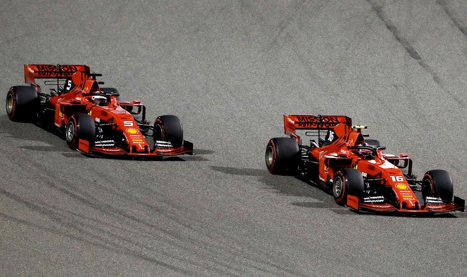 Sebastian Vettel und Charles Leclerc wollen in Abu Dhabi wieder für positive Schlagzeilen sorgen.