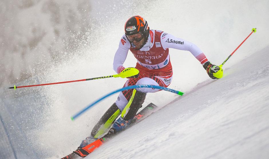 Für Michael Matt und Co. verlief der Slalom-Auftakt in Levi nicht nach Wunsch.