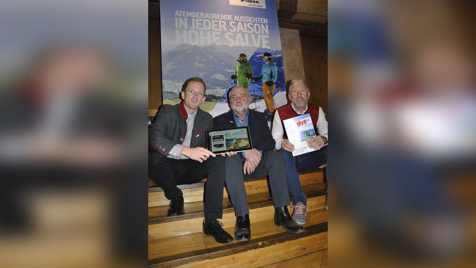 GF Stefan Astner, Obmann Hans Peter Osl und AR-Vorsitzender Balthasar Sieberer (v.l.) freuen sich über ein erfolgreiches Jahr.
