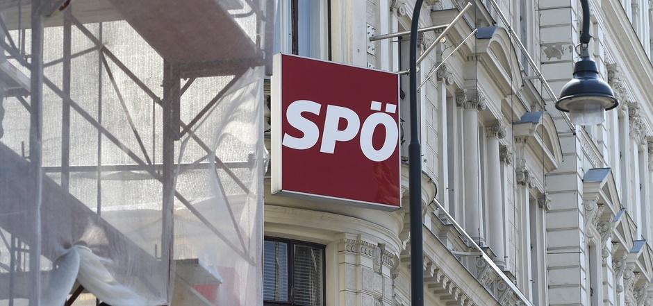 SPÖ-Parteizentrale in der Löwelstraße in Wien.
