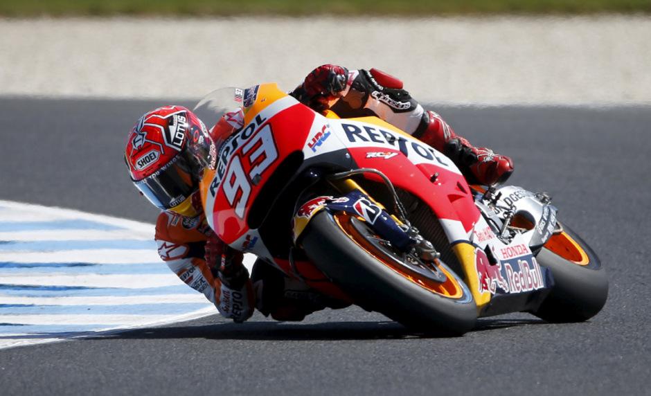 Marquez, der heuer zwölf Rennen gewonnen hat, war beim Grand Prix von Malaysia Anfang November schwer gestürzt.