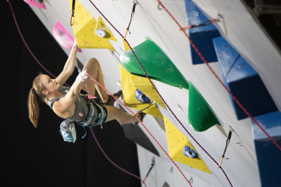 Vor 13 Monaten kletterte Sandra Lettner zu olympischem Jugend-Gold, jetzt will die 18-Jährige zu den Spielen nach ?Tokio 2020?.