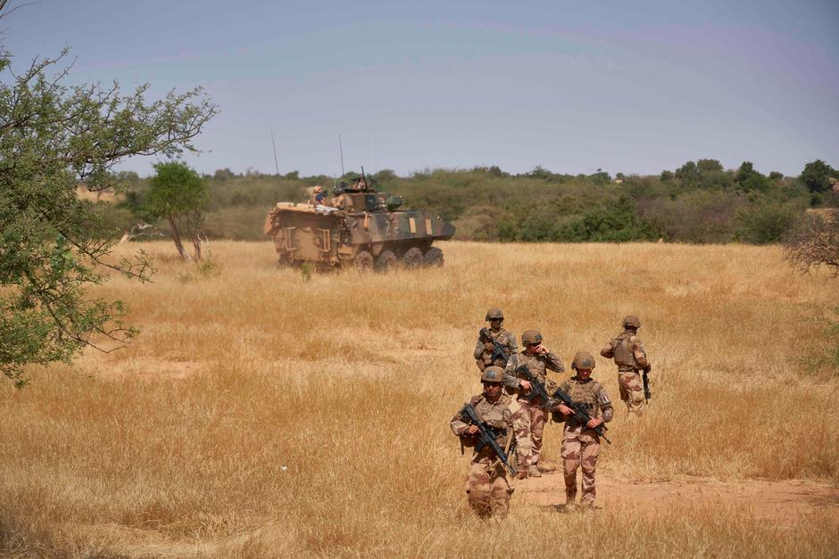 Französische Soldaten beim Einsatz in Mali.