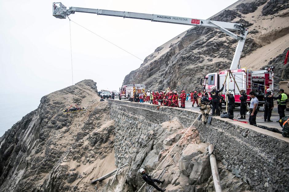 Immer wieder kommt es in Peru zu schweren Busunglücken. (Archivfoto)