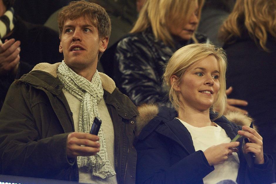 Eines der seltenen gmeinsamen Bilder (aus dem Jahr 2012): Sebastian Vettel und seine Frau Hanna.