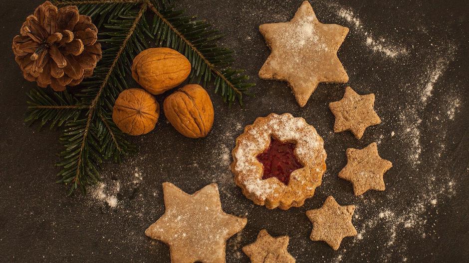 Naschen ohne schlechtes Gewissen: Weihnachtskekse müssen nicht kalorienreich sein.