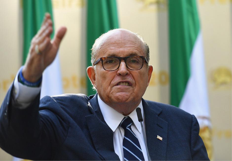 """Rudy Giuliani: einst """"Amerikas Bürgermeister"""", heute Trumps Mann für den Schmutzkübel."""