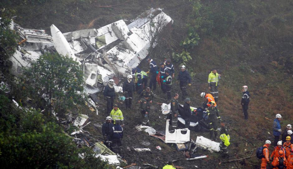 Im November 2016 stürzte das Flugzeug mit der Mannschaft an Bord ab.