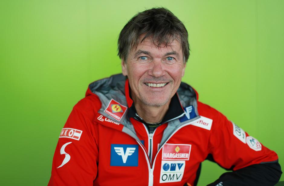ÖSV-Skisprung-Cheftrainer Andreas Felder.