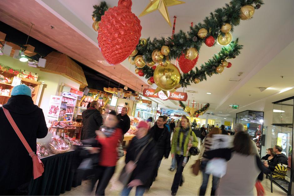 Dieses Wochenende startet das Weihnachtsgeschäft.