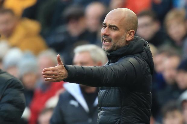Nur 2:2 gegen Newcastle: Die Leiden von ManCity-Coach Guardiola.