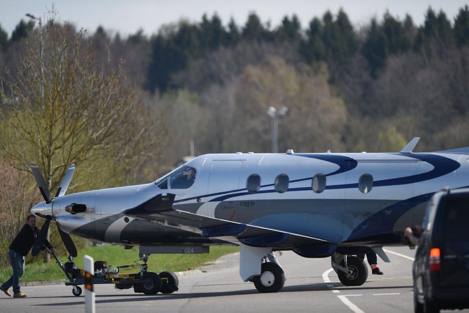 Eine Flugzeug des Typs Pilatus PC-12 stürzte am Samstag in South Dakota ab.
