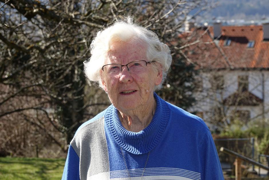 """Maria Kecht (Haussammlerin): """"Zuerst war ich katholisch als Opposition gegen Hitler, später dann aus Überzeugung."""""""