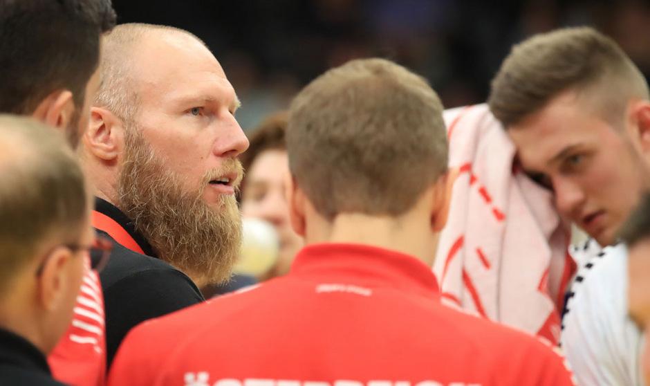Österreichs Handball-Teamchef Alex Pajovic.