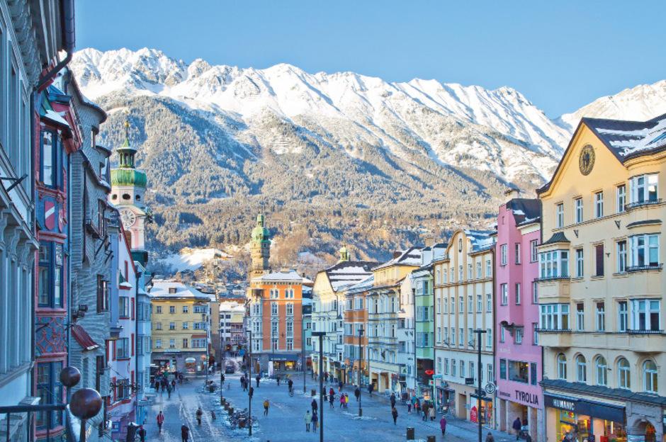 Postkartenidylle: Innsbruck wurde vom Lifestyle-Magazin Monocle zu den besten Städten unter 200.000 Einwohnern gewählt.