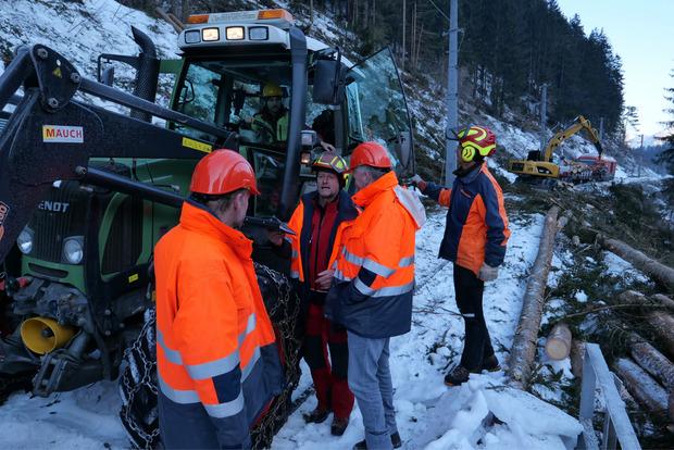 Die Verantwortlichen der ÖBB hoffen ab 12. Dezember auf einen Notbetrieb für Güter zwischen Lienz und Sillian.