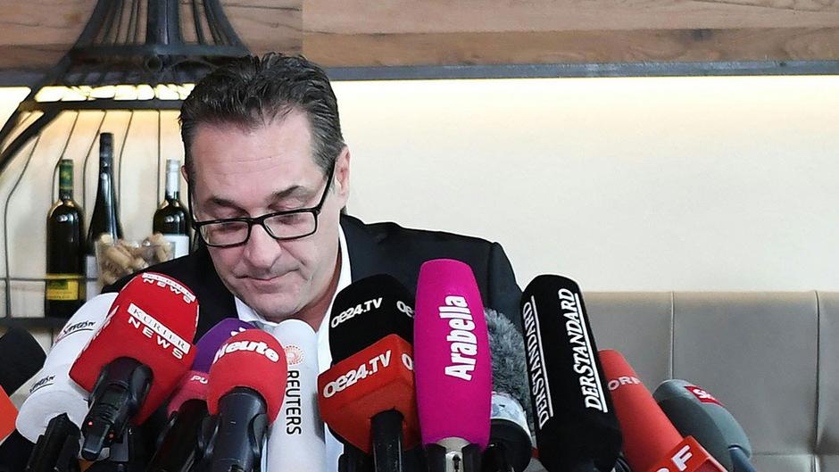 Ex-FPÖ-Chef Heinz-Christian Strache ist bei seiner Partei derzeit suspendiert. Um einen Ausschluss wird noch gerungen.