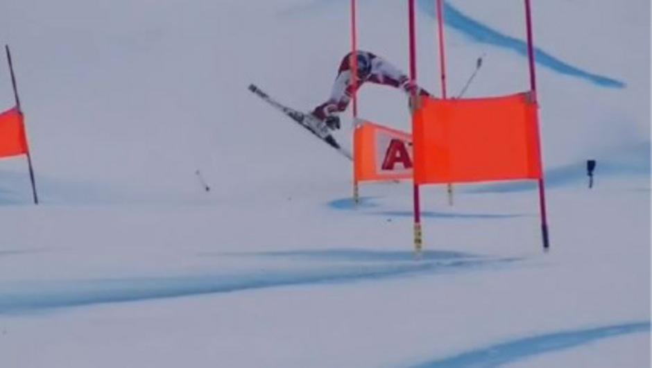 Matthias Mayer stürzte beim Riesentorlauf-Training schwer.