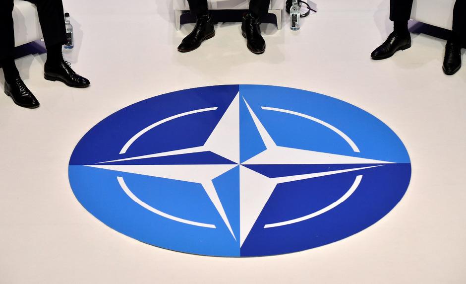 Das Logo der NATO.